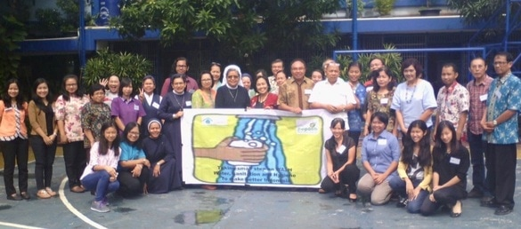 Photograph of participants at the WASH workshop in Jakarta